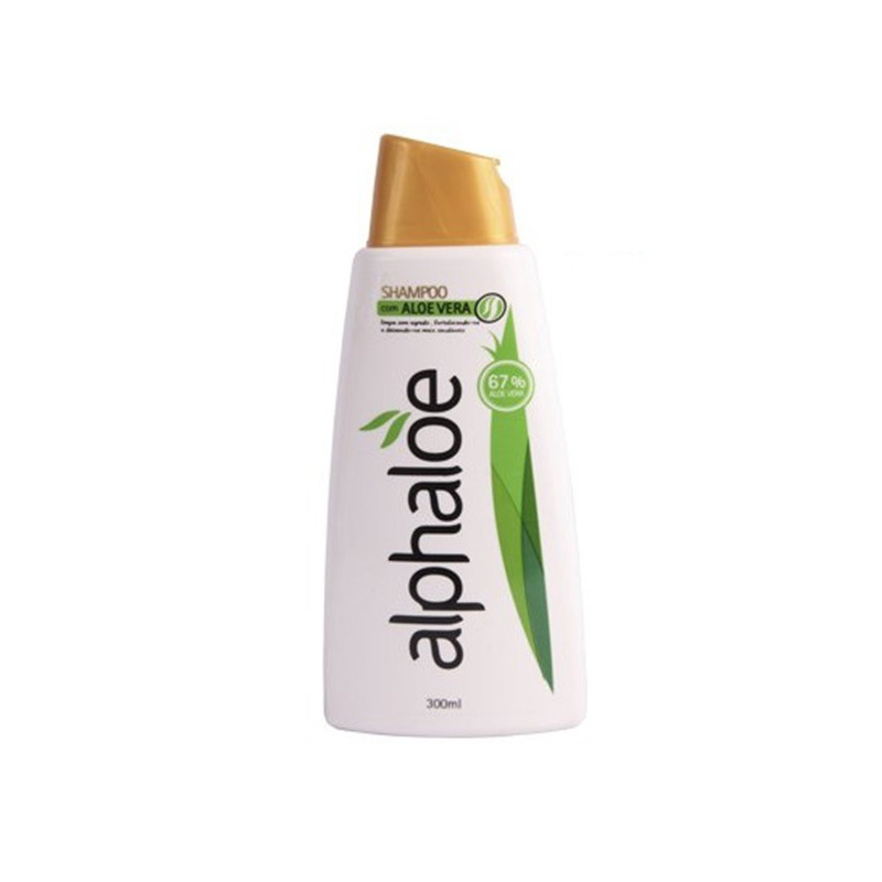 Shampoo com Aloe Vera 67% de Babosa - 300ml Alphaloe