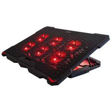Base Para Notebook 6 Coolers Rojos 13 A 17 Pulgadas Noga Net