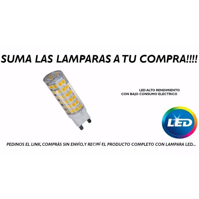 Aplique 3 Luces Cobre Cabezal Móvil Apto Led Luz Desing Mks