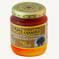 ApiCopaiba Composto Mel, Propolis e Copaiba 300g Apis Flora