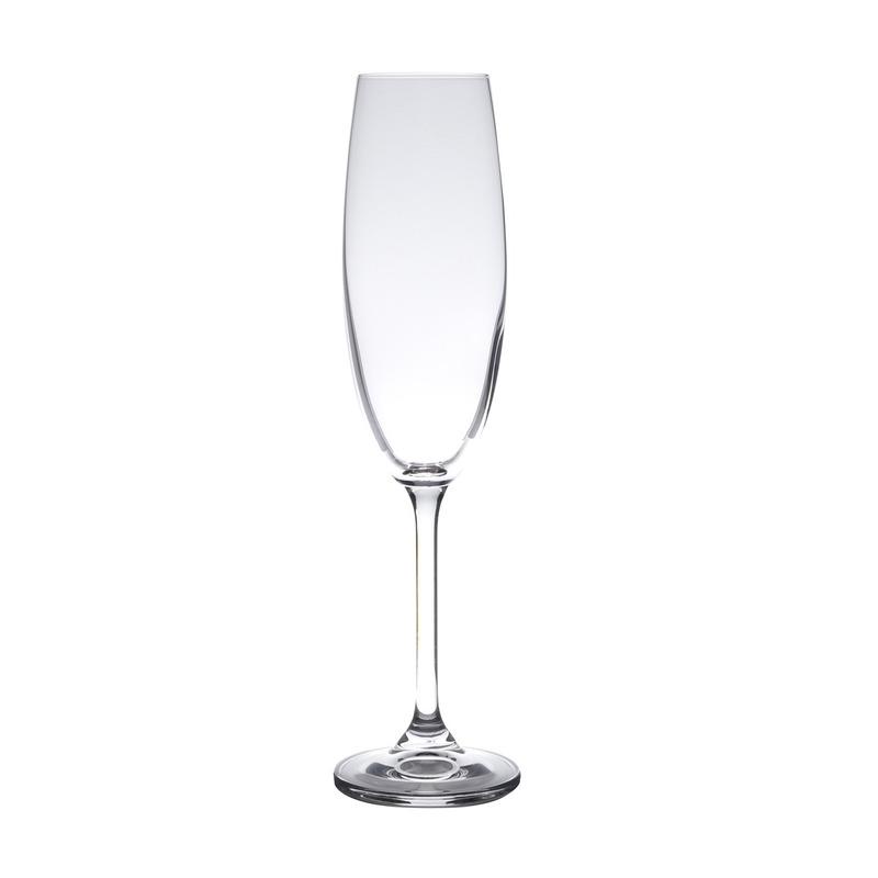 Jogo 6 Taças Champagne em Cristal Gastro 220Ml - Bohemia 3105327