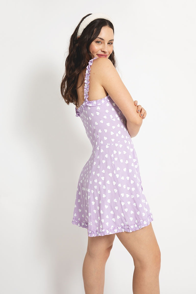 Vestido Hollywood Lila