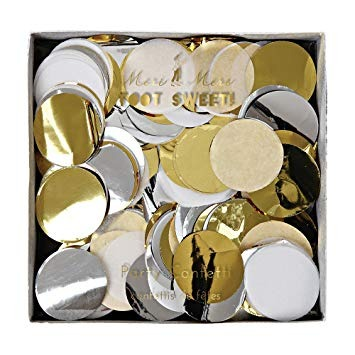 Confetti Party metalizado