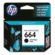 Cartucho Hp 664 Negro Original 1115 2135 3635 4535 4675