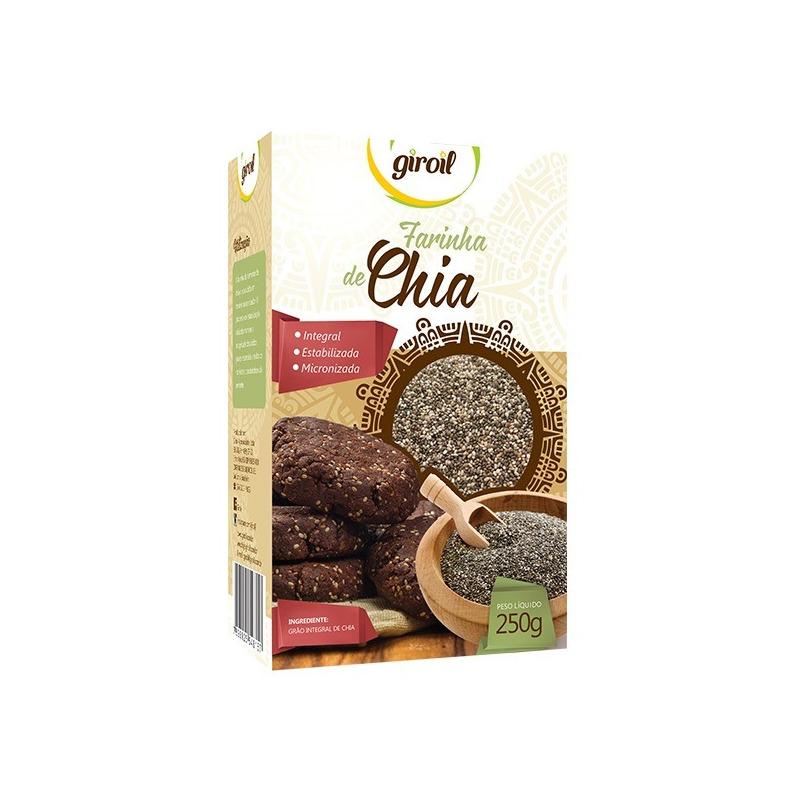Farinha de Chia Integral Estabilizada - 250g Giroil