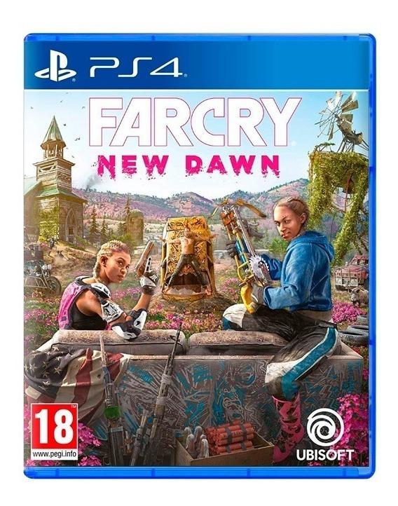 Farcry New Dawn Far Cry Ps4 Fisico Sellado Nuevo Original