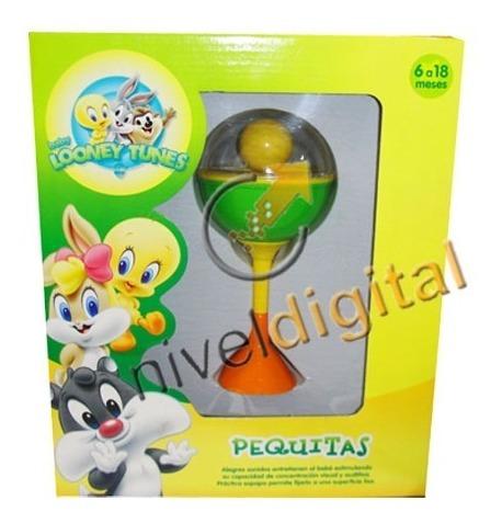 Sonajero Pequitas De Mesa Looney Tunes Para Bebes En Caja