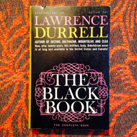 Lawrence Durrell.  THE BLACK BOOK.