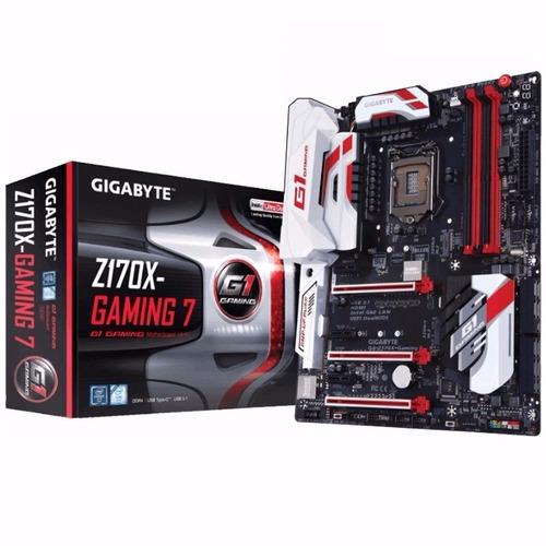 Mother Gigabyte Ga Z170x Gaming 7 1151 Atx Intel Ddr4 Z170