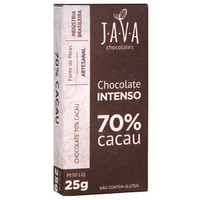Chocolate Intenso 70% Cacau - 25g - Java