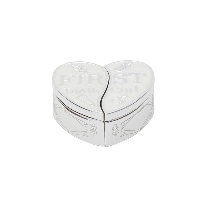 Caixa Em Forma de Coração Azul para dente E Cabelo - Prestige 3102954