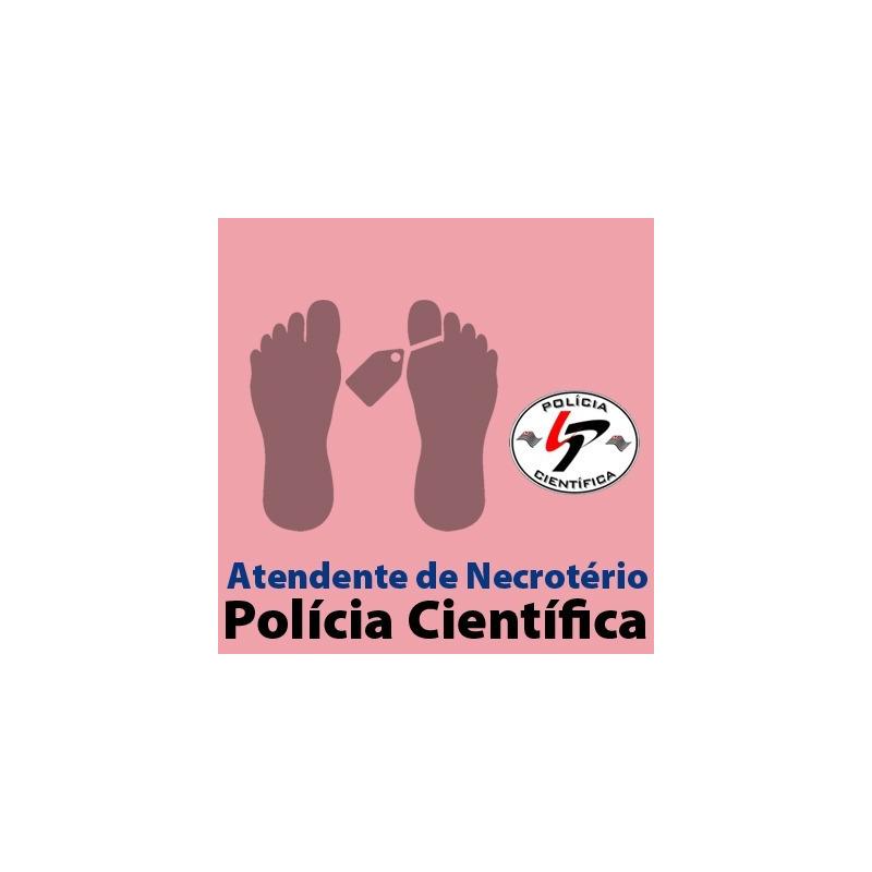 SPTC - Polícia Científica - Atendente de Necrotério - Noções de Direito