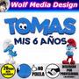 Los Pitufos La Aldea Perdida Logo Personalizado Souvenir Kit | WOLF MEDIA DESIGN