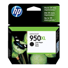 Cartucho Hp 950xl Original Negro Cn045al