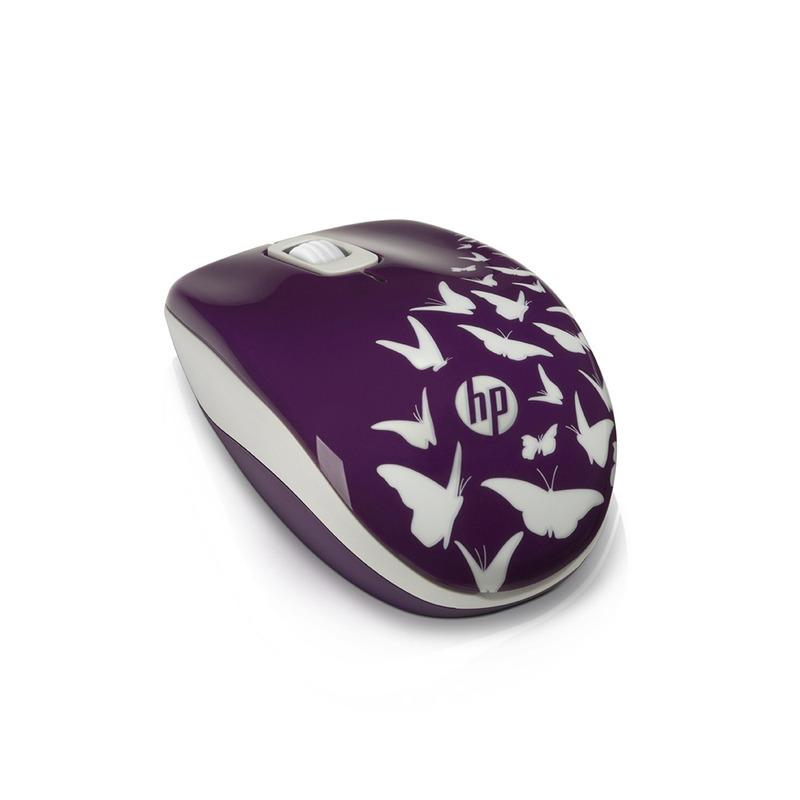 MOUSE SEM FIO HP Z3600 BUTTERFLY