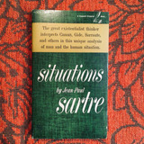 Jean-Paul Sartre. SITUATIONS.