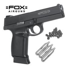 Pistola Aire Comprimido Co2 Fox 40f Metal Blowback Potente