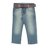 Calça Masculina Jeans Skinny c/ cinto Crawling