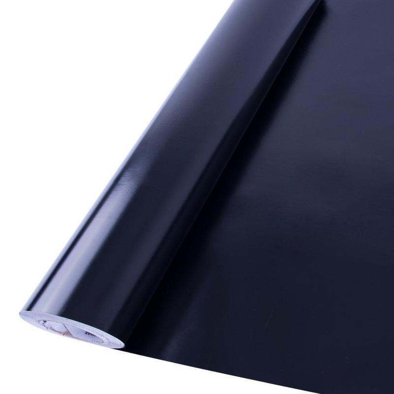 Vinil adesivo Goldmax preto brilhante larg. 1,22 m