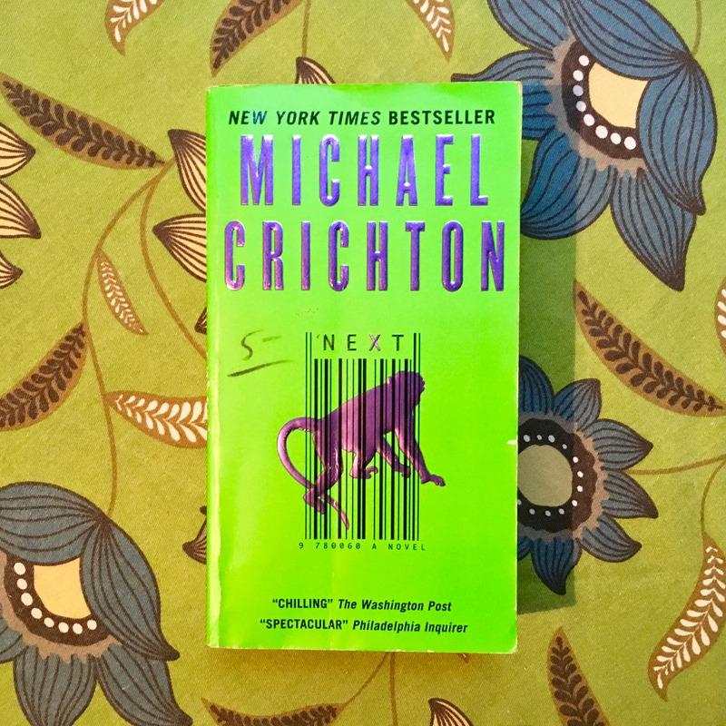 Michael Crichton.  NEXT.