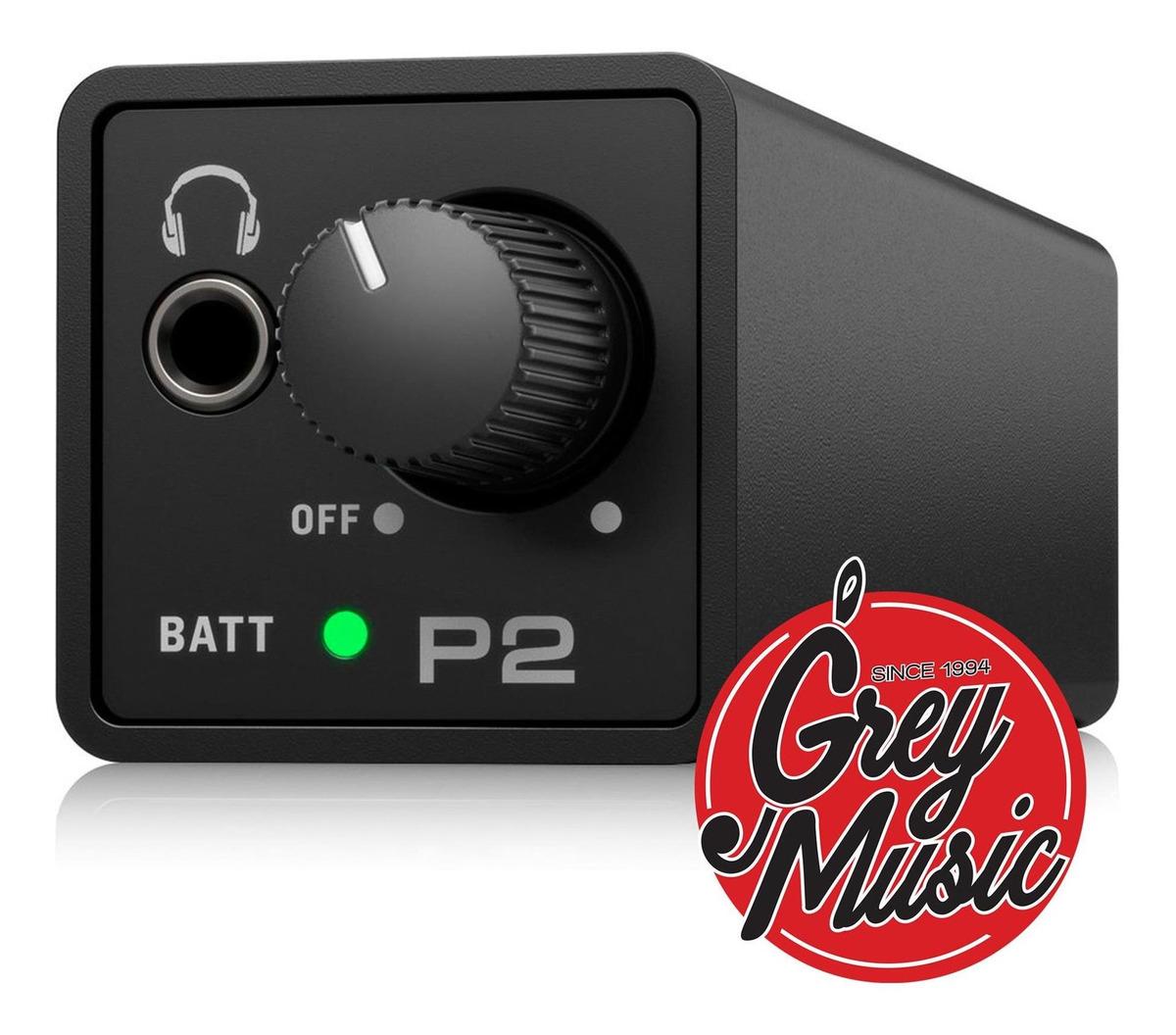 Powerplay Behringer P2 Ligero Y  Pilas Amplificador Iem