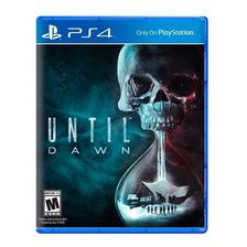 Until Dawn Ps4 Fisico Sellado Nuevo Original