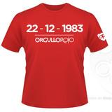 """Remeras Orgullosas """"22-12-83"""""""