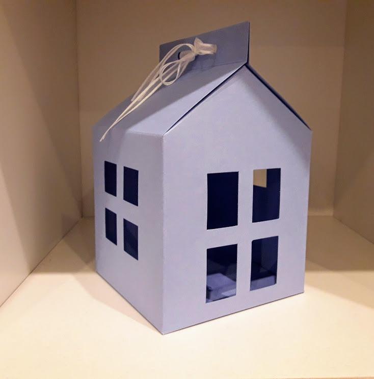 Casa con forma de casita