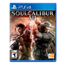 Soul Calibur Vi 6 Ps4 Fisico Sellado Nuevo Original