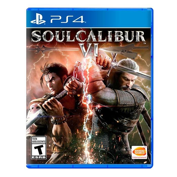 Soul Calibur Vi 6 Ps4 Fisico Sellado Nuevo Original