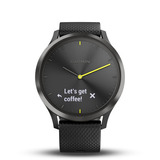 Smartwatch monitor cardíaco Vívomove HR Preto Garmin Original