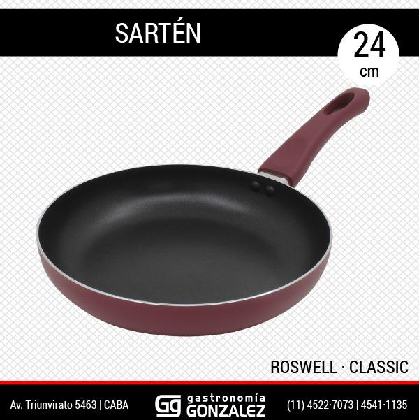 Sartén de teflón Roswell 24