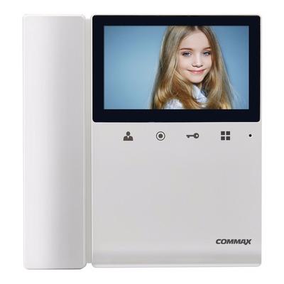 Commax Portero Electrico Visor Kit Frente + 2 Monitores 43k