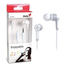Auricular Genius Hs M225 In Ear Manos Libres Mic 3.5 White