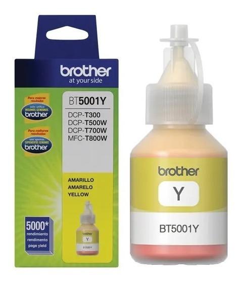 Tinta Brother Bt5001y Original Para Dcp T300 Dcp T500w