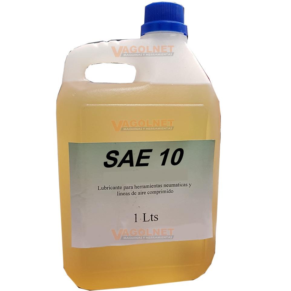 Aceite Sae10 Alta Para Herramienta Neumatica 1 Lt