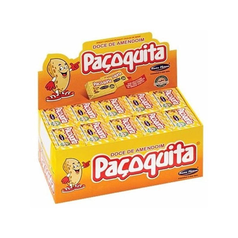 Pacoquita - Caixa de 50 Un de 20g - Santa Helena