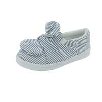 Sneakers Blanco Con Azul A Lineas 014671