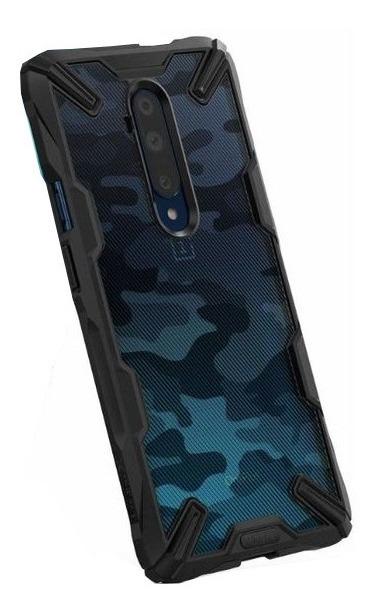 FUNDA RINGKE FUSION X ONEPLUS 7T PRO CAMO BLACK