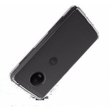 Funda Tpu Transparente Anti Golpe Moto E4 E4 Plus + Glass