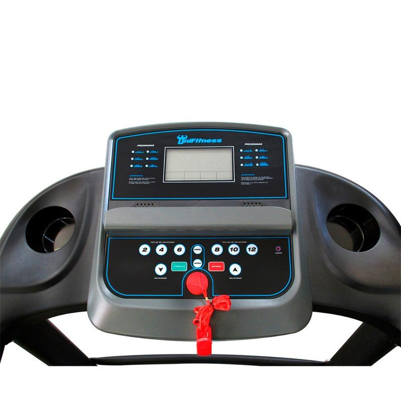 Caminadora Electrica Unifitness Motor 1.5 HP Facil de Usar Plegable