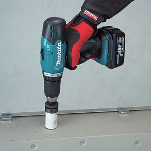 Taladro Percutor 13mm 18v Makita 453she + 2 Bat + Maletin
