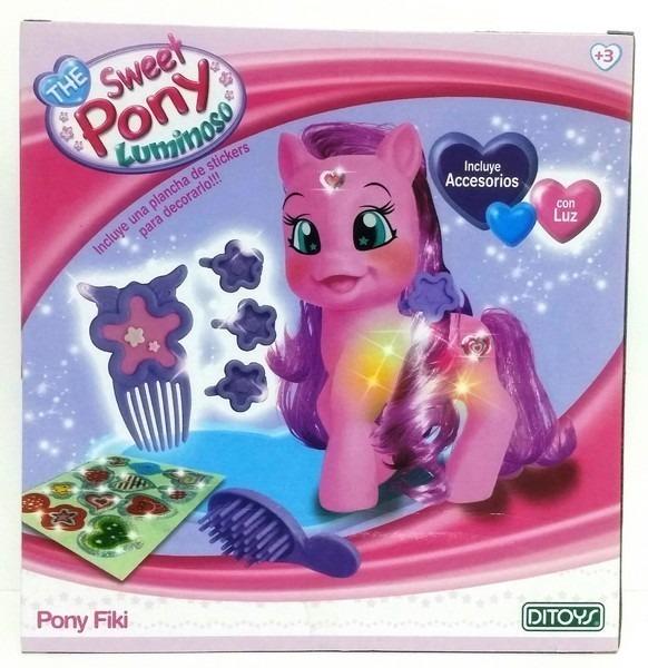 Sweet Pony Luminoso X 2 Con Accesorios Ditoys