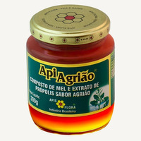 ApiAgriao Composto de Mel, Propolis e Agriao 300g Apis Flora