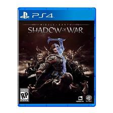 Shadow Of War Middle-earth Ps4 Fisico Sellado Original