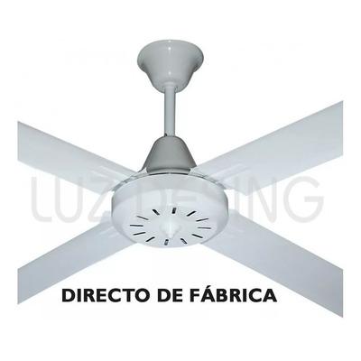 Ventilador De Techo Blanco 4 Palas 5 Velocidades Garantía Tg
