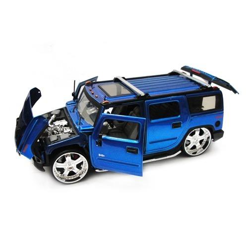 Camioneta Hummer H2 Replica Die Cast Jada Big Time 1:24 Caja