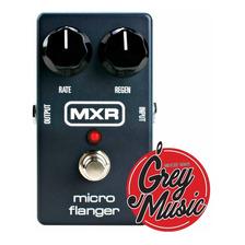 Pedal De Efectos Mxr M152 Microflanger - Grey Music -