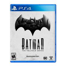 Batman The Telltale Series Ps4 Fisico Sellado Original