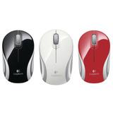 Mini mouse inalámbrico, mouse ultraportátil Logitech M187